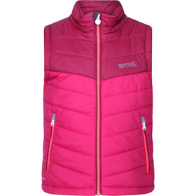 Regatta Freezeway II Bodywarmer Vest Kids, dark cerise/beetroot